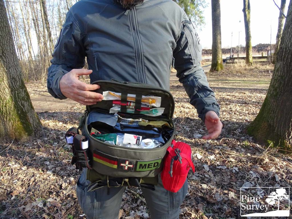 Pine Survey Review TT Medic Hip Bag IRR.