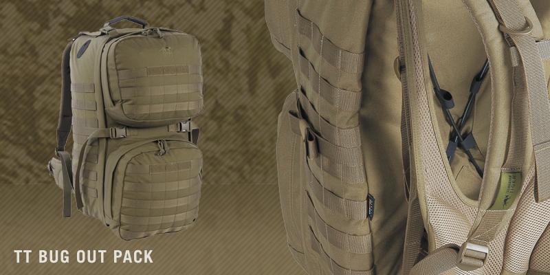 Der TT Bug Out Pack ein top verarbeitetes High-End Produkt. So die Meinung des Magazins Tactical Gear.