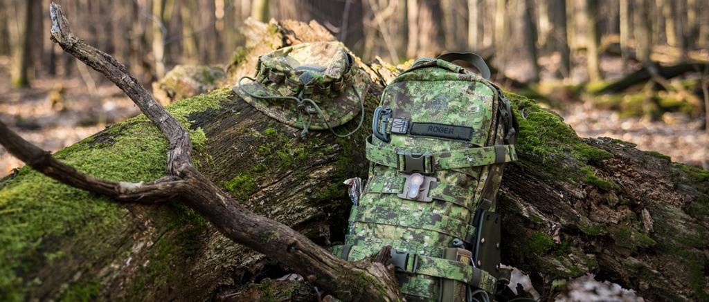 Der TT Essential Pack EDC-Rucksack von Tasmanian Tiger im Review-Test von gear addicts. Hier im Camouflage-Muster PenCott GreenZone.