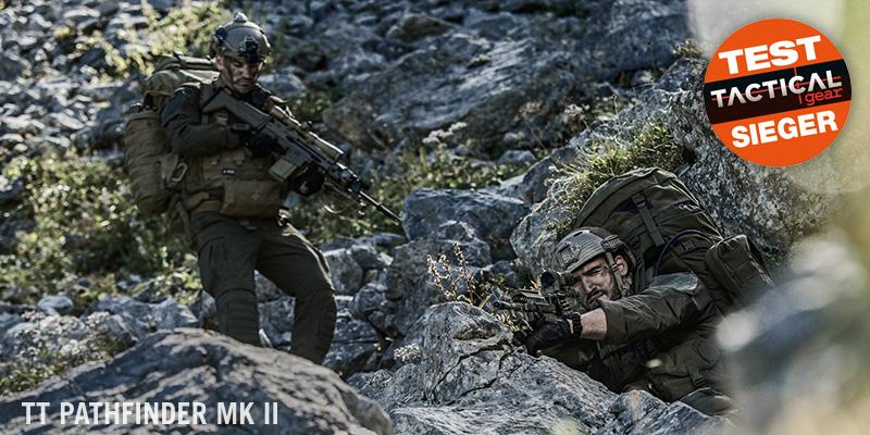 Der TT Pathfinder MK 2 Rucksack von Tasmanian Tiger wurde Testsieger in der Rubrik XXL Rucksaecke vom Tactical Gear Magazin.