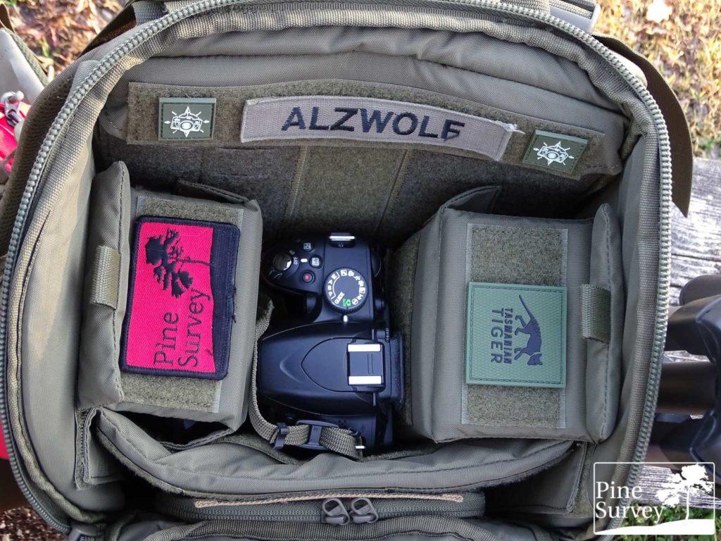 Pine Survey Review Tasmanian Tiger TT Modular 30 Camera Pack