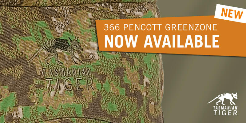PenCott GreenZone pattern for Tasmanian Tiger equipment
